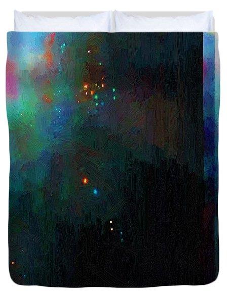 Neptune's Monolith Duvet Cover
