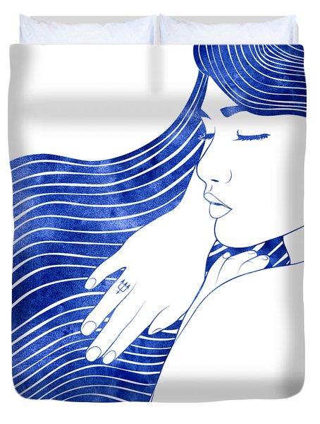 Nereeid Xxv Duvet Cover