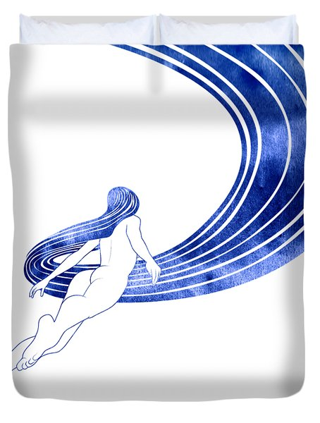 Nereid Xiii Duvet Cover