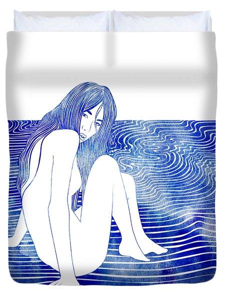 Nereid Xxxv Duvet Cover