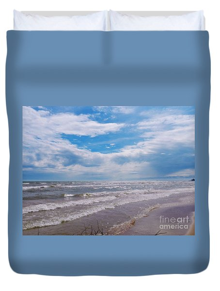 Neshotah Beach Duvet Cover