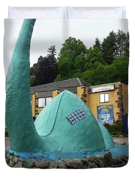 Nessie The Loch Ness Monster Duvet Cover