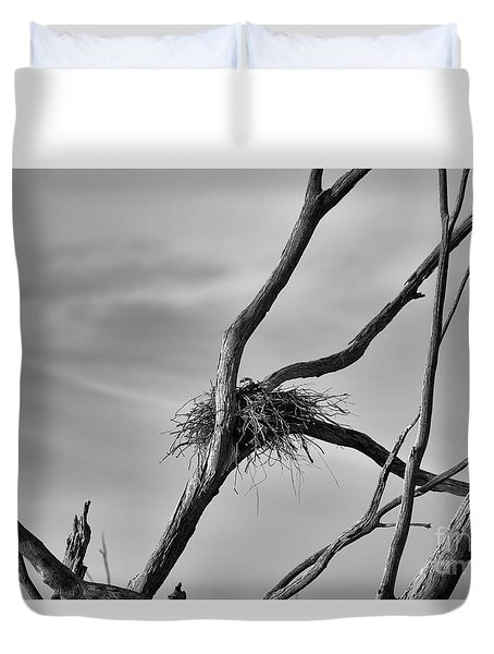 Nested Duvet Cover by Douglas Barnard