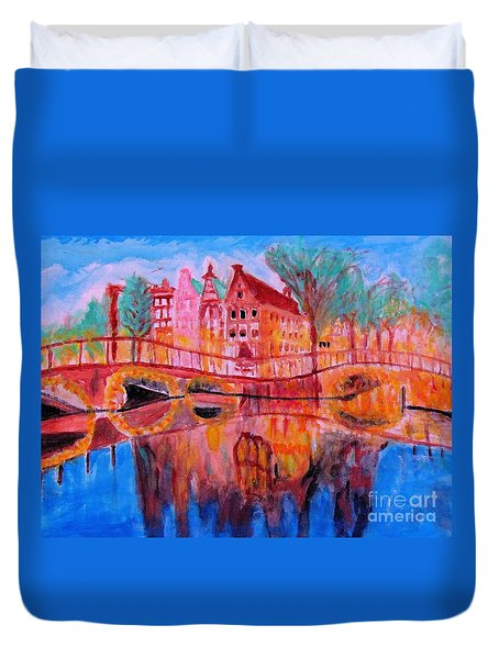 Netherland Dreamscape Duvet Cover