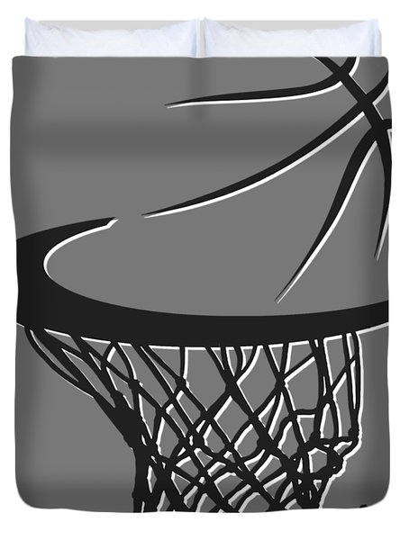 Nets Basketball Hoop Duvet Cover