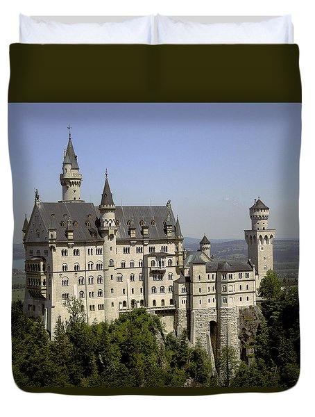Neuschwanstein Castle Duvet Cover by Don Wright