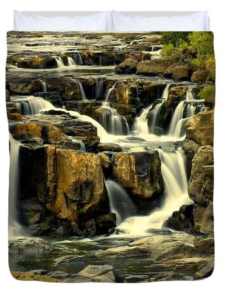 Nevada Falls 5 Duvet Cover by Marty Koch