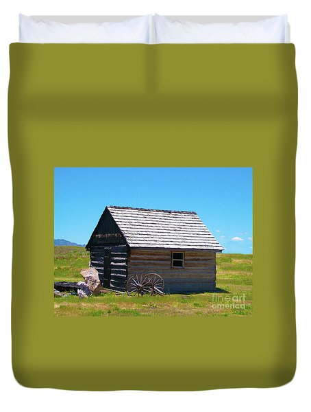 Nevada Homestead Duvet Cover