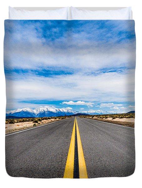 Nevada Road Trip Duvet Cover