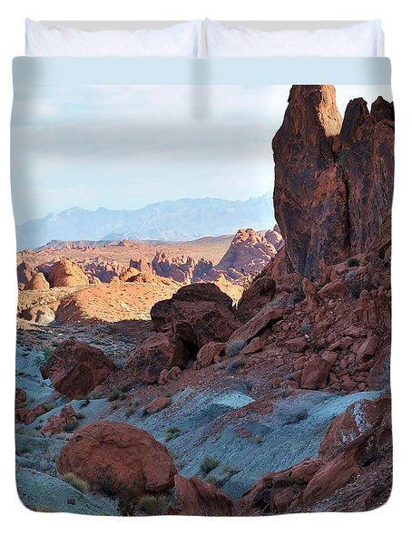 Nevada Rocks 11 Duvet Cover