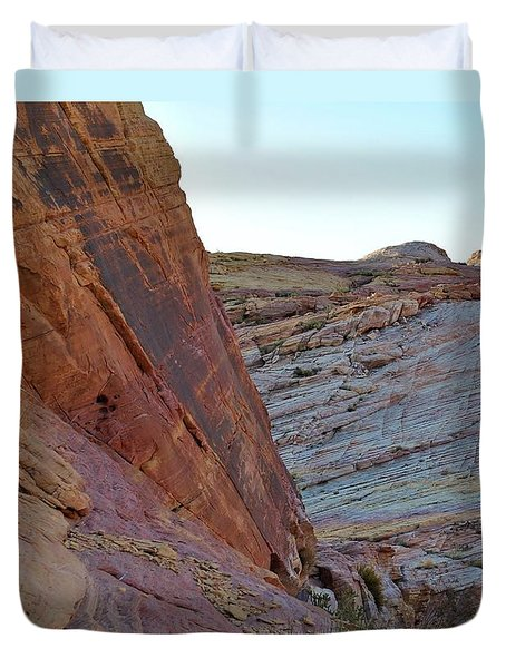 Nevada Rocks 2 Duvet Cover