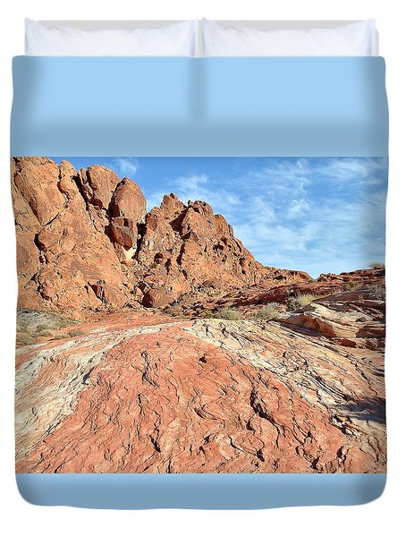 Nevada Rocks 26 Duvet Cover