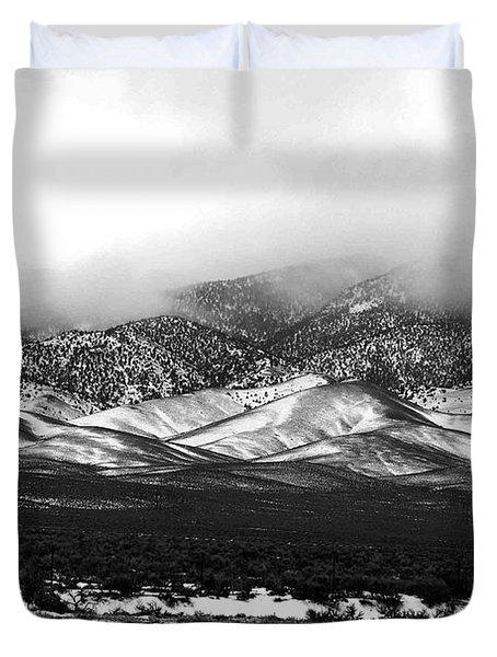 Nevada Snow Duvet Cover