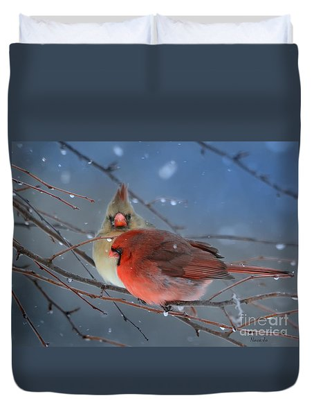 Never Alone Duvet Cover