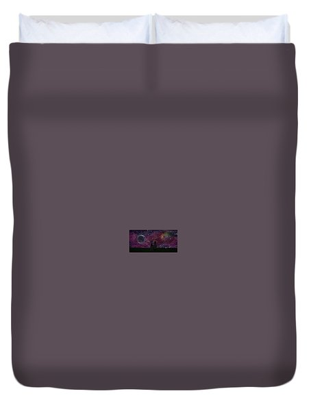 Never Alone Part 2 Duvet Cover