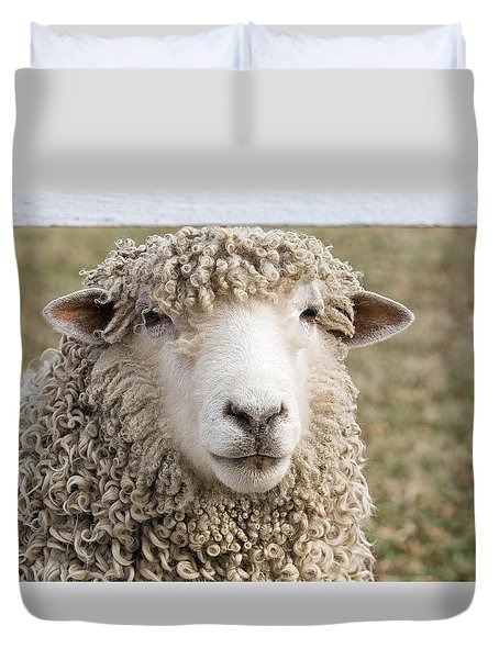 Never Ask For A Fully Bodied Perm Duvet Cover