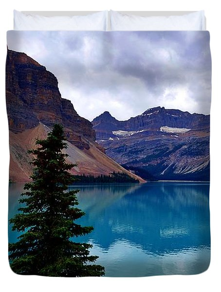 Bow Lake, Banff, Ab  Duvet Cover