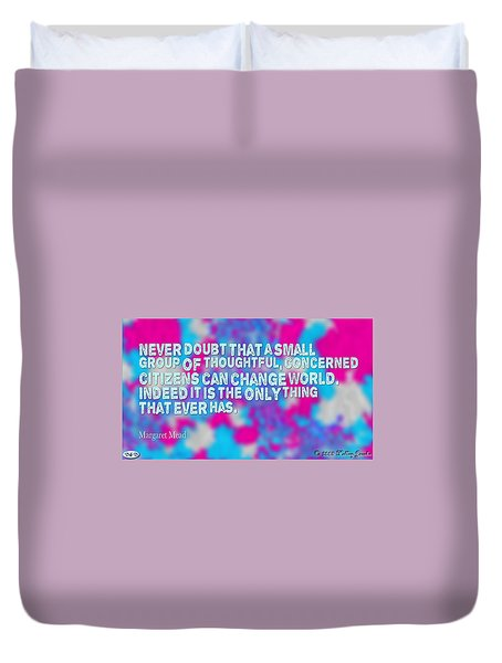Never Doubt Duvet Cover