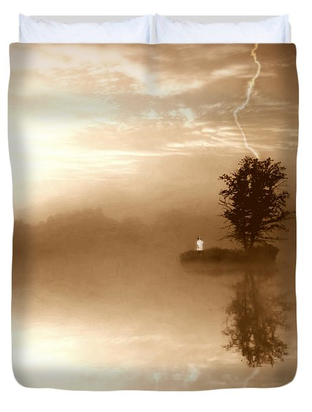 Never Forget Me Duvet Cover