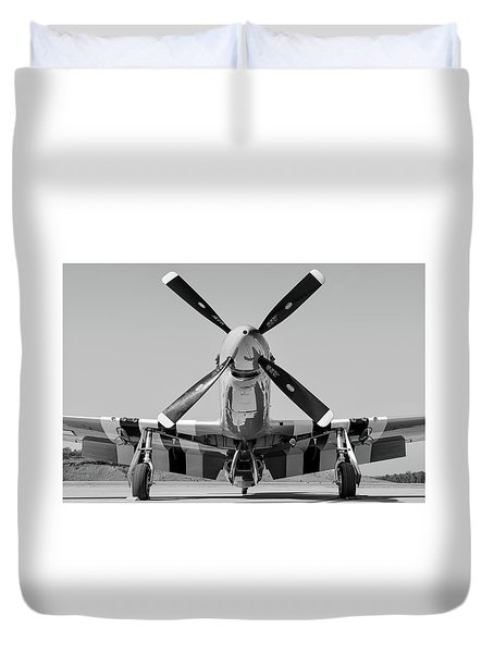 Never Keep A Mustang Waiting Duvet Cover