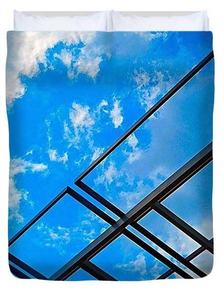 Never Tell Me The #sky Is The Limit Duvet Cover