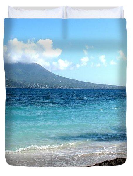 Nevis Across The Channel Duvet Cover