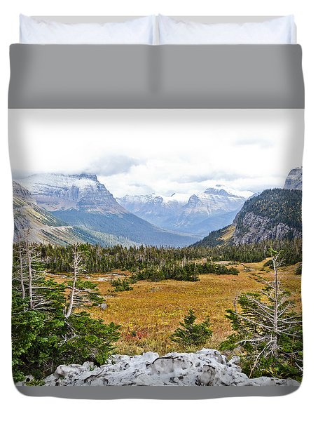 New And Old Snow Duvet Cover by Dan Dooley