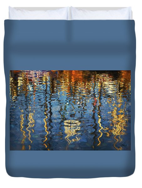 New Bedford Waterfront No. 5 Duvet Cover