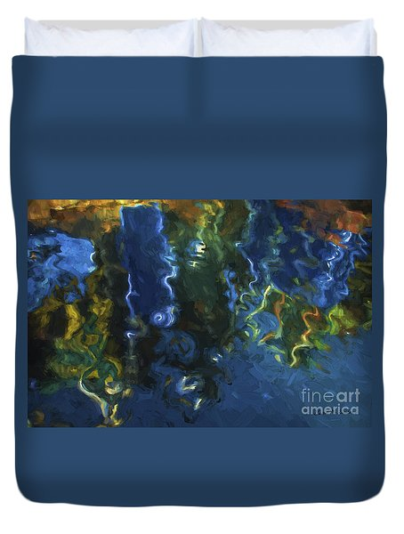 New Bedford Waterfront IIi Duvet Cover