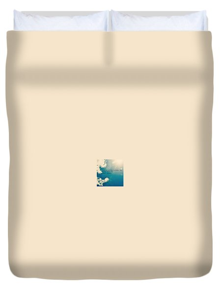 Duvet Cover featuring the photograph New Beginning by Artists With Autism Inc