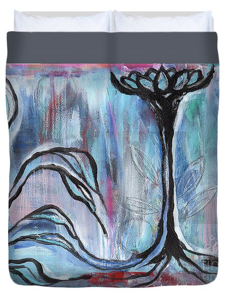 New Beginnings Duvet Cover by Angela Armano