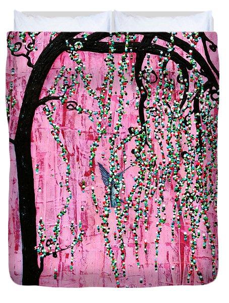 New Beginnings Duvet Cover by Natalie Briney