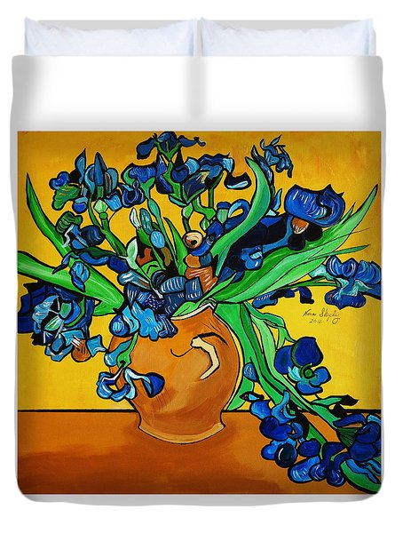 New Blue By You Duvet Cover