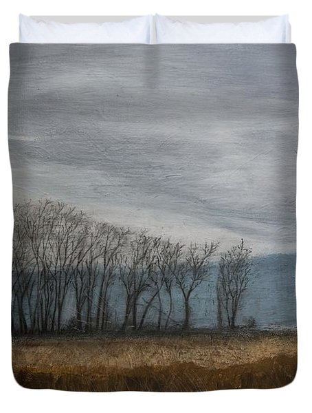 New Buffalo Marsh Duvet Cover