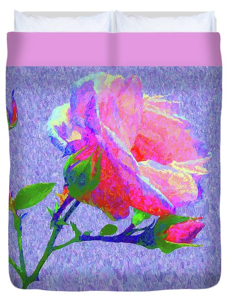 New Dawn Painterly Duvet Cover