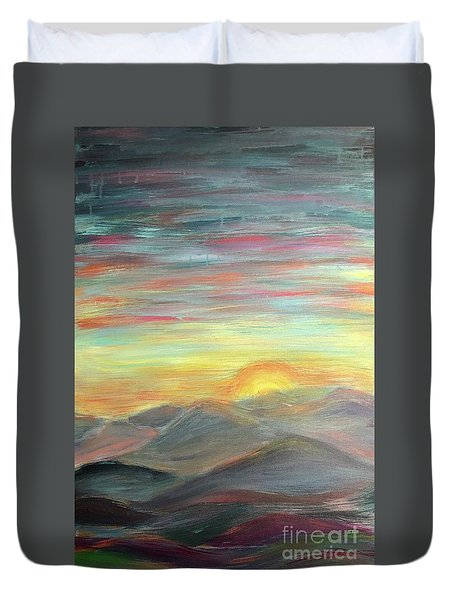 New Day Duvet Cover