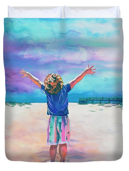 New Day Duvet Cover by Maureen Dean