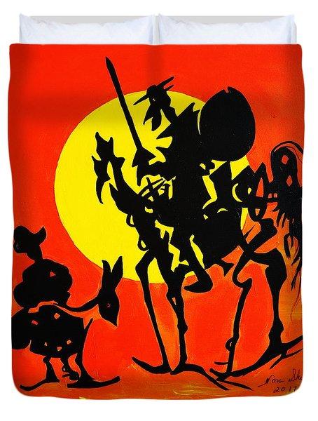 New Don Quixote Duvet Cover