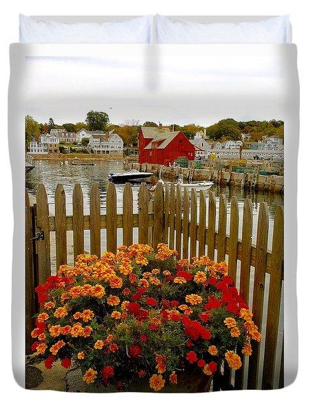 New England Delight Duvet Cover