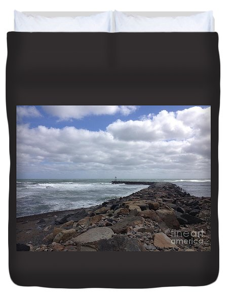 New England Jetty Duvet Cover