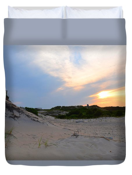 New England Paradise  Duvet Cover