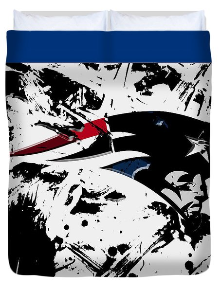New England Patriots 1d Duvet Cover