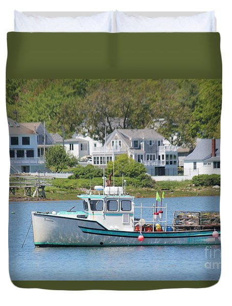 New England Summer Duvet Cover