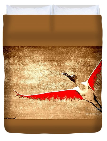 New Found Freedom Duvet Cover