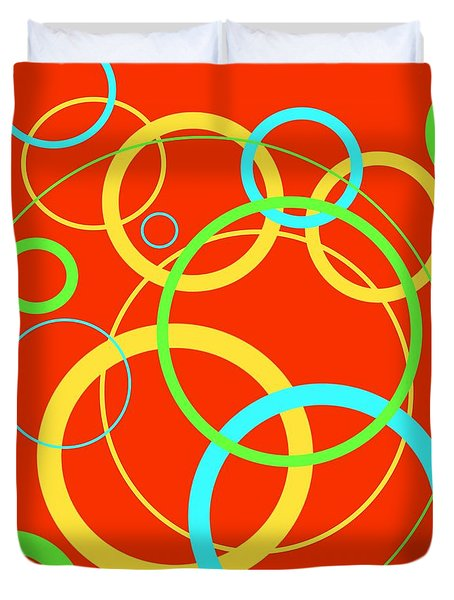 New Friends Duvet Cover by Jeff Gater