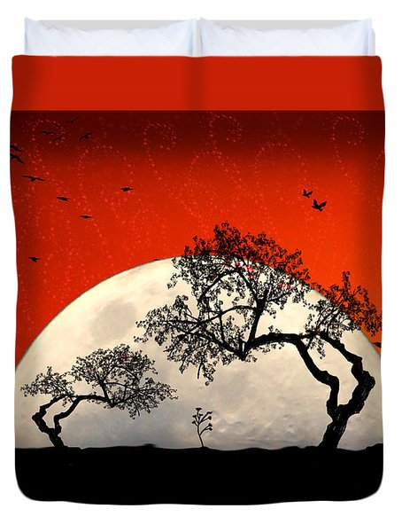 New Growth New Hope Duvet Cover