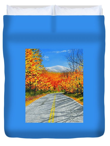 New Hampshire Duvet Cover
