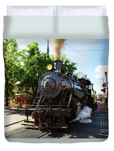 New Hope And Ivyland Railroad  Duvet Cover