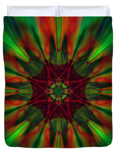 New Life Ablaze Duvet Cover