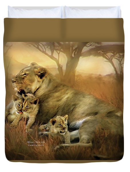 New Life Duvet Cover